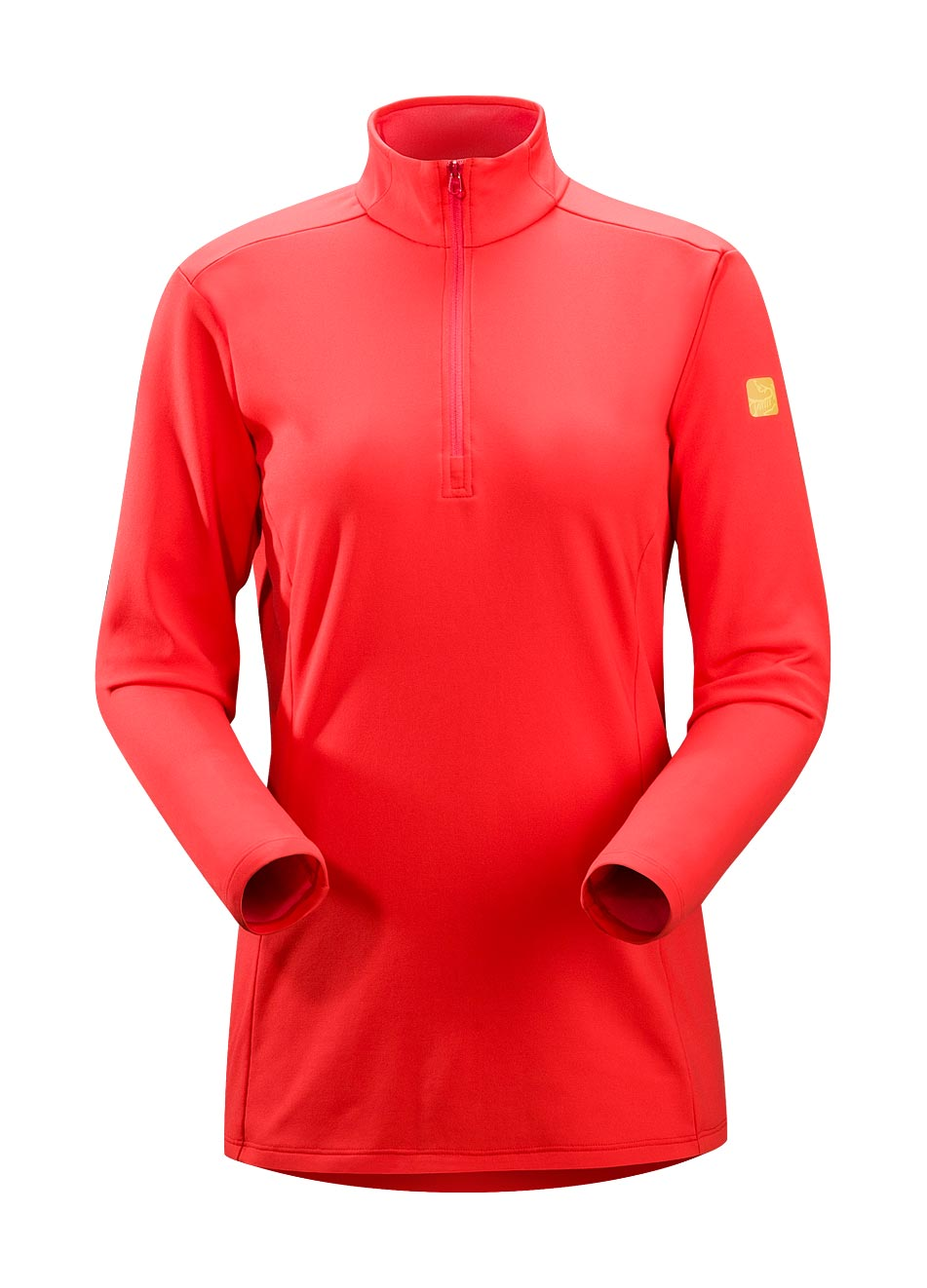 Arcteryx Grenadine Phase AR Zip Neck LS